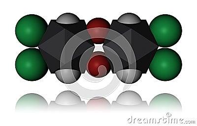 Dioxin - molecule