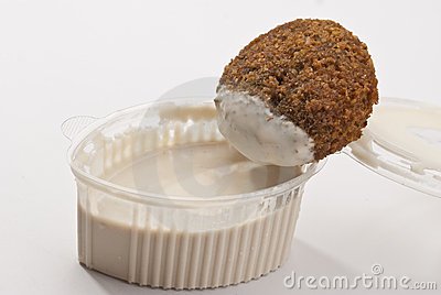 Dip And Filafel Stock Image - Image: 13675471