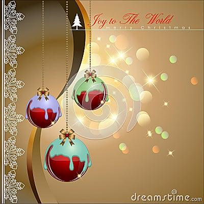 Diped colorful chocolate Christmas balls.