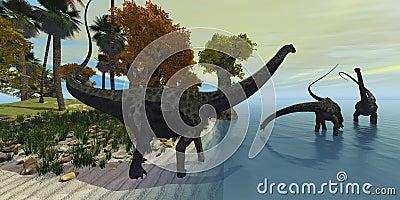 Diplodocus Island