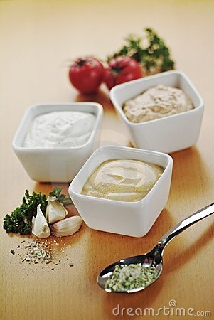 Free Dipping Sauces Stock Photo - 9708120