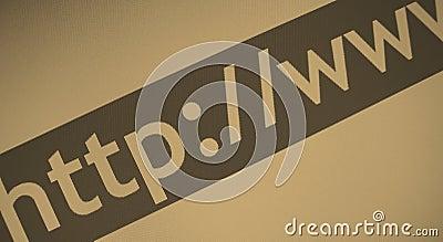Direccionamiento del Web del Internet
