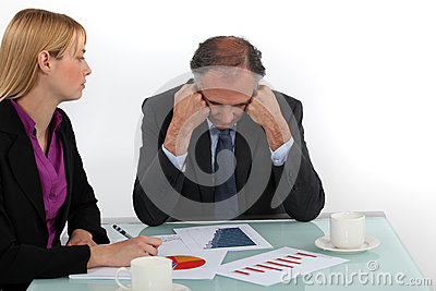 Directeur en werknemer