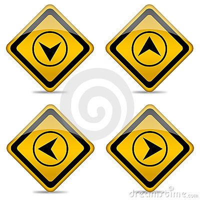 Direction Arrow Button Royalty Free Stock Photo - Image: 22106745