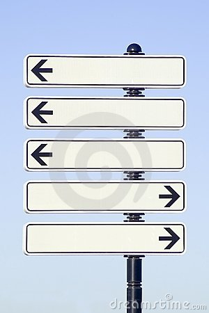 Free Direction Arrows Royalty Free Stock Images - 1260509