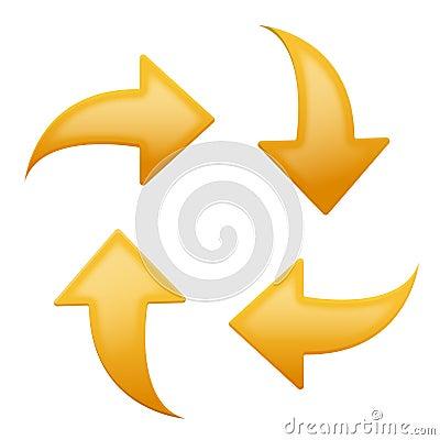 direction arrows set