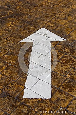Free Direction : Go Straight Stock Image - 31773581
