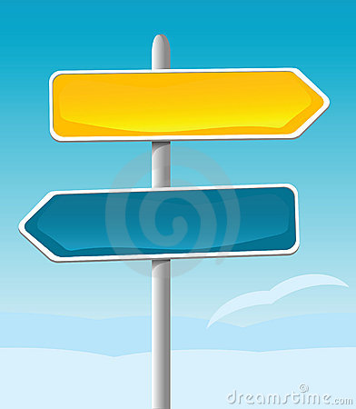 Direction Sign Royalty Free Stock Photography - Image: 1522507