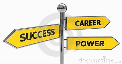 directions of success, power and career