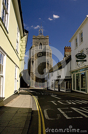 Free Directions To Diss Town Centre St Mary S Chruch Royalty Free Stock Photo - 72101635