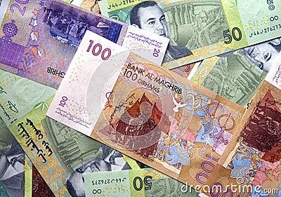 Dirhams currency