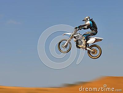 Dirt Bikes Jumping Dirt Bike Wheelie Stock Photos