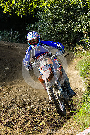 Dirt bike rider Editorial Stock Image