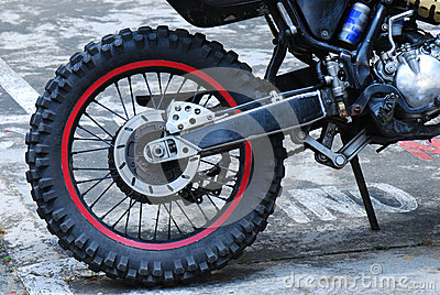 Dirt Bike Wheel