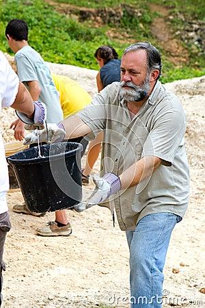 Dirt Bucket Brigade