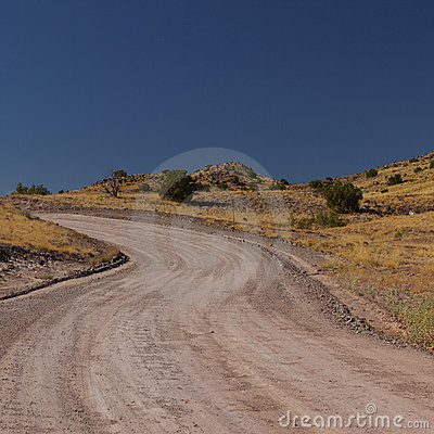 Dirt Road New Mexico