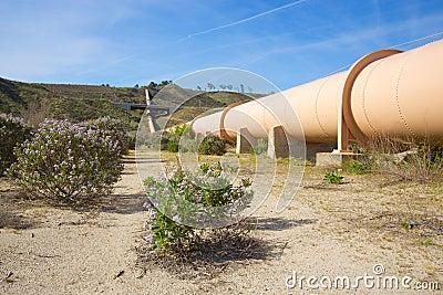 Dirt Road beside Pipeline