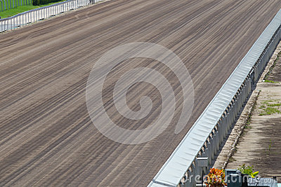 Dirt Track in Racecourse
