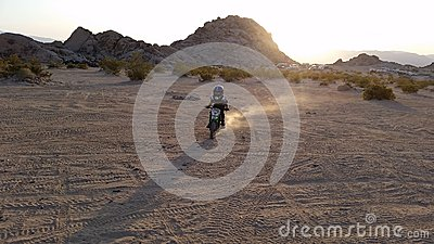 Dirtbike Evening Editorial Photography