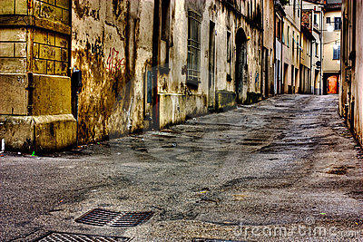 Dirty alley