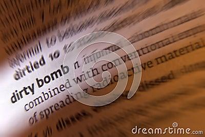 Dirty Bomb - Terrorism