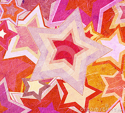 Dirty fabric with stars