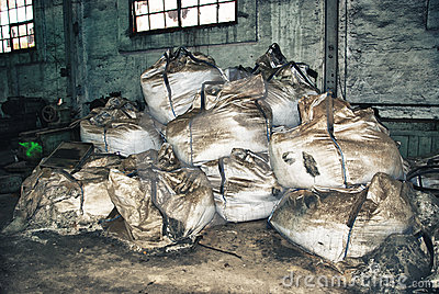 Dirty large bags