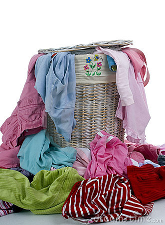 Free Dirty Laundry 2 Royalty Free Stock Image - 1430276