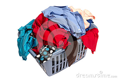 Dirty Laundry In Basket