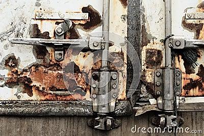 Dirty Lorry Door