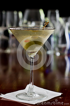Free Dirty Martini Stock Photography - 29506282