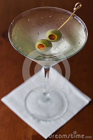 Free Dirty Martini Royalty Free Stock Photography - 29506807