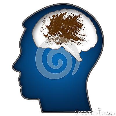 Filthy Minds Dirty-mind-human-head-illustration-messy-blot-brain-35169175