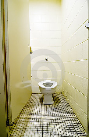 Dirty Old Toilet