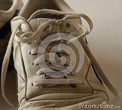 Dirty Running Shoe