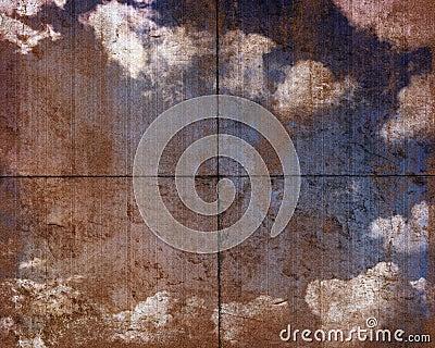 Dirty sky panel