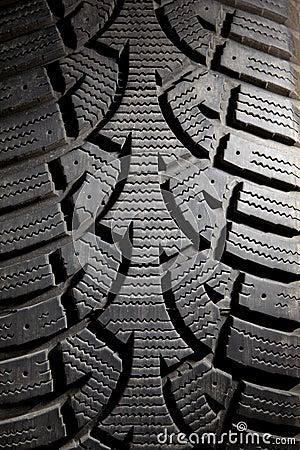 Dirty Snow Tire