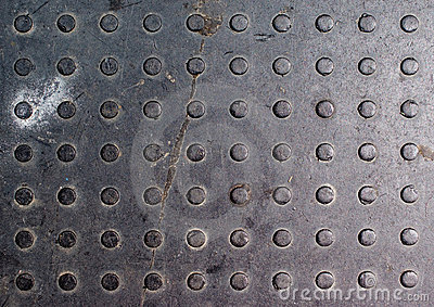 Dirty Steel Tread Plate/checkered Plate Texture