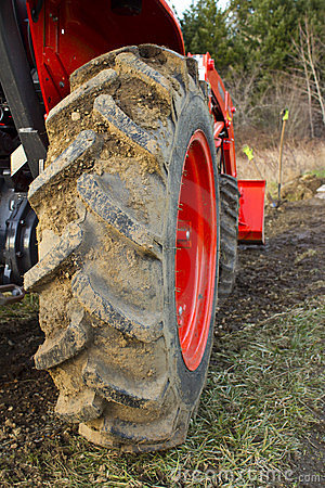 Dirty Tractor Tire