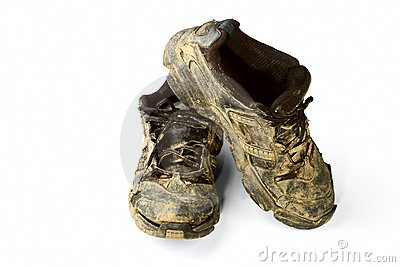 Dirty trainers