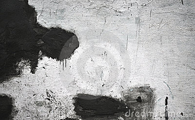 Dirty wall with spills paint