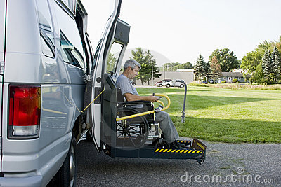 Disability conversion van