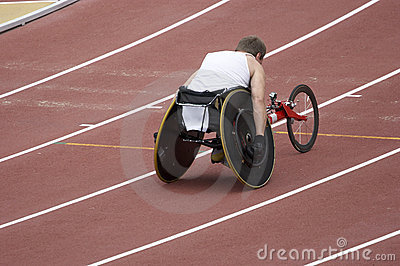 Disabled Athlete