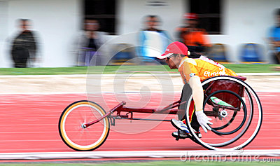 Disabled athletes Editorial Image
