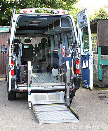 Disabled mobility ambulance