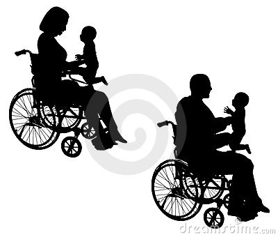 Disabled Parents With Baby