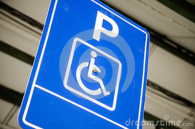 Disabled Parking Bay Sign