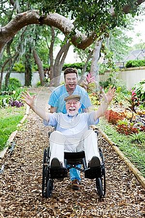 Free Disabled Senior - Fun Stock Images - 7744424