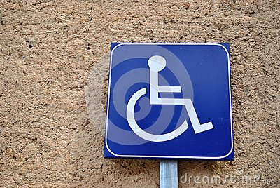 The disabled signal