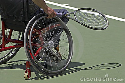 Disabled Tennis Editorial Photography